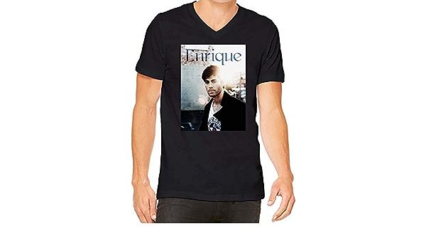 Enrique Iglesias Sunlight V-Neck T-Shirt For Men tee  100 ...