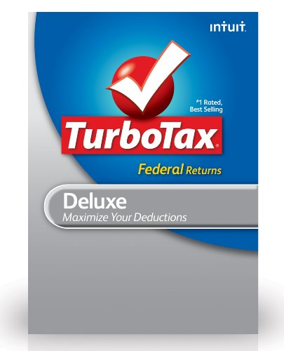 TurboTax Deluxe Federal + E-File 2012 for PC [Old Version] by Intuit
