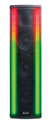 Alto Professional Spectrum | 200W Bi-Amplified Bluetooth PA System with 3-Channel Mixer, Dual LED Arrays & 5 Light Modes (Way Bi Amplified Speaker Pa)