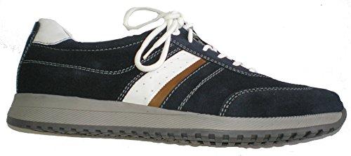 Waldläufer 414013-300-021 Hagen uomini Sneaker Blu