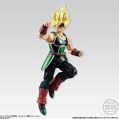 Bandai Shokugan Shodo Part 5 Dragon Ball Z Super Saiyan Fun Action Figure - Bardock