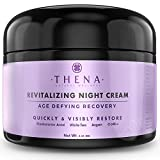 Organic Night Cream Anti Aging Wrinkle Cream With Hyaluronic Acid Argan Oil, Natural Face...