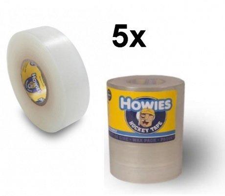 Howies 5X Shin Pad Tape f. Stutzen Eishockey, Hockey Stutzentape Clear 23 m