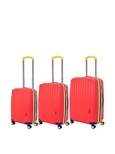 3-piece-oversized-expandable-hardside-double-spinner-luggage-set-red