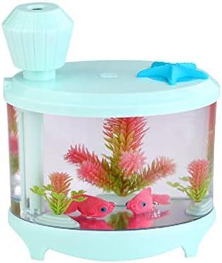 Humidificador luminoso de acuario para peces de oficina ...