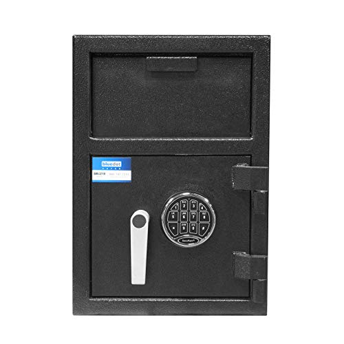 (Depository Safe B-Rate Fire-Protection Front Load Hopper Drop Box use at Home, Office, Hotels, Restaurants for Cash, Money, Jewelries, Checks with Digital Keypad Lock (20
