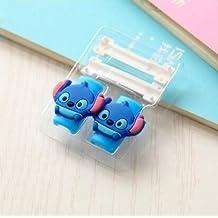 ZOEAST® Stitch Kitty Cat Bowknot Apple Lightning Data Cable USB Charging Data Line Saver Protector for iPhone 5 5C 5S SE 6 6S Plus IPad 2 3 4 IPad mini Air 2 iPad Pro iPod iWatch (2pcs Stitch)