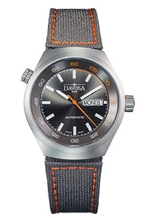 Davosa Herren-Armbanduhr Trailmaster Analog Automatik Nylon 16151885
