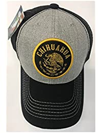 cbd7d3864ce Pitbull Premium Mexico Federal State Logo MESH Baseball Cap Hat - Chihuahua   Gold