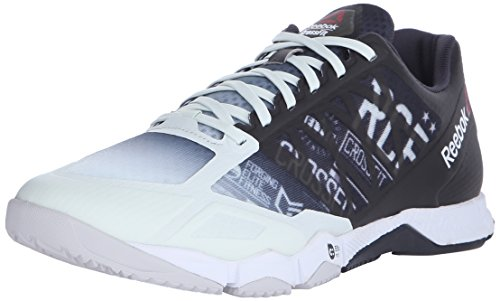 Reebok Men's CrossFit Speed TR Training Shoe, Coal/Opal/Steel, 7 M US