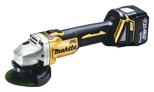 マキタ 充電式ディスクグラインダ14.4V 100mm ゴールド GA403DSP1 B00RV3B9GS