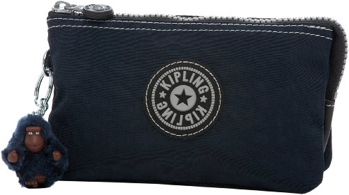 Kipling Creativity Small Pouch, True Blue, One ()