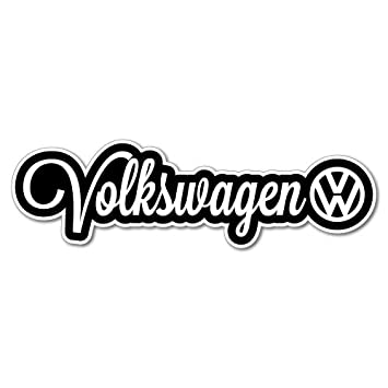 Volkswagen sticker euro vw vinyl decal