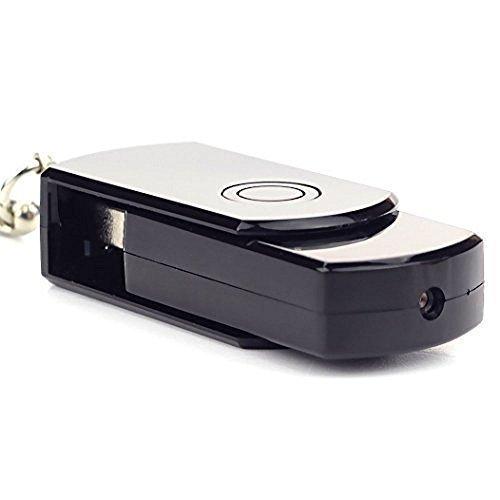 Loveboat Hidden Camera, HD Motion Digital DVR USB Disk Flash Driver Mic Cam DVR Activated Camcorder with 16G TF Card