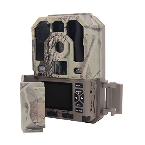 Hunting Trail Camera Waterproof - Game Camera HD 1080P 12MP Infrared Digital Hunting Cameras Deer Trail Wildlife Scouting Hunting for Guarding Indoor Outdoor Security Night VisionPictureVideo