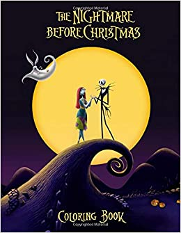 The Nightmare Before Christmas Coloring Book: Exclusive ...