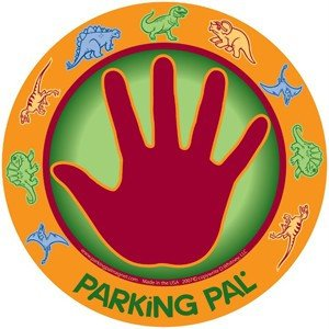 Parking Pal Car Magnet Parking Lot Safety for Children (Dino Pal) ()