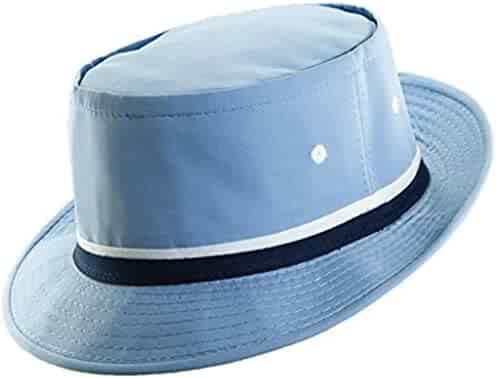 de034bb2939 DPC Packable Pork Pie Poplin Ribbon Bucket Hat