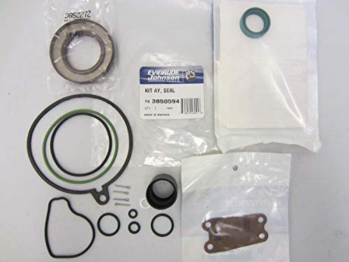 Volvo Penta New OEM Upper Gear Case Housing Seal & Gasket Kit SX Drive 3850594 - Gasket Gear Case