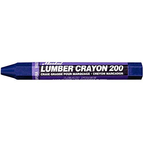 (Markal 200 Lumber Crayon Economical Wax Based Marker, 1/2