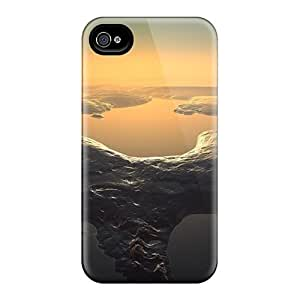 High-quality Durable Protection Cases For Iphone 4/4s(3d Scenery)