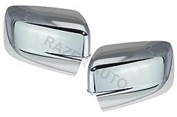 Razer Auto 2009-2016 DODGE RAM 1500, 2010 - 2016 DODGE RAM 2500,3500 CHROME MIRROR COVER WITHOUT TURN SIGNAL