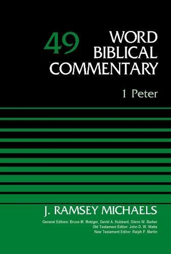 1 Peter, Volume 49 (Word Biblical Commentary) (1 1 49)
