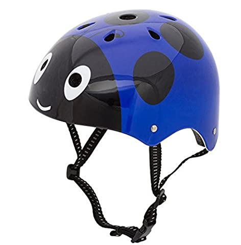 Dostar Kids Multi-sport Adjustable Ladybug Helmet –Safety Comfort Cycling Skateboarding Skating Durable Kids Bike Helmets for 3 to 12 Years old Boys/Girls (Bright - Comfort Skate