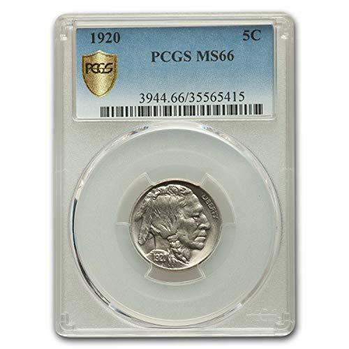 1920 Buffalo Nickel MS-66 PCGS Nickel MS-66 PCGS
