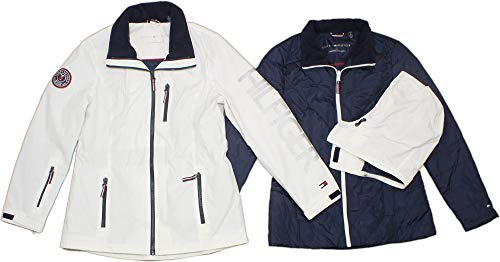 Tommy Hilfiger 3-in-1 Systems Jacket for Women (White, Large)
