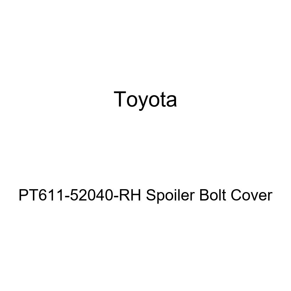 Toyota Genuine PT611 52040 RH Spoiler Bolt Cover