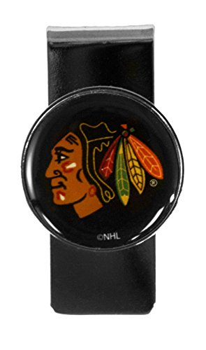 NHL Chicago Blackhawks Stainless Steel Dome Money