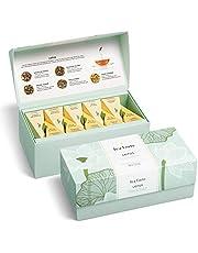 Tea Forte Presentation Box Tea Sampler Gift Set, 20 Assorted Variety Handcrafted Pyramid Tea Infuser Bags