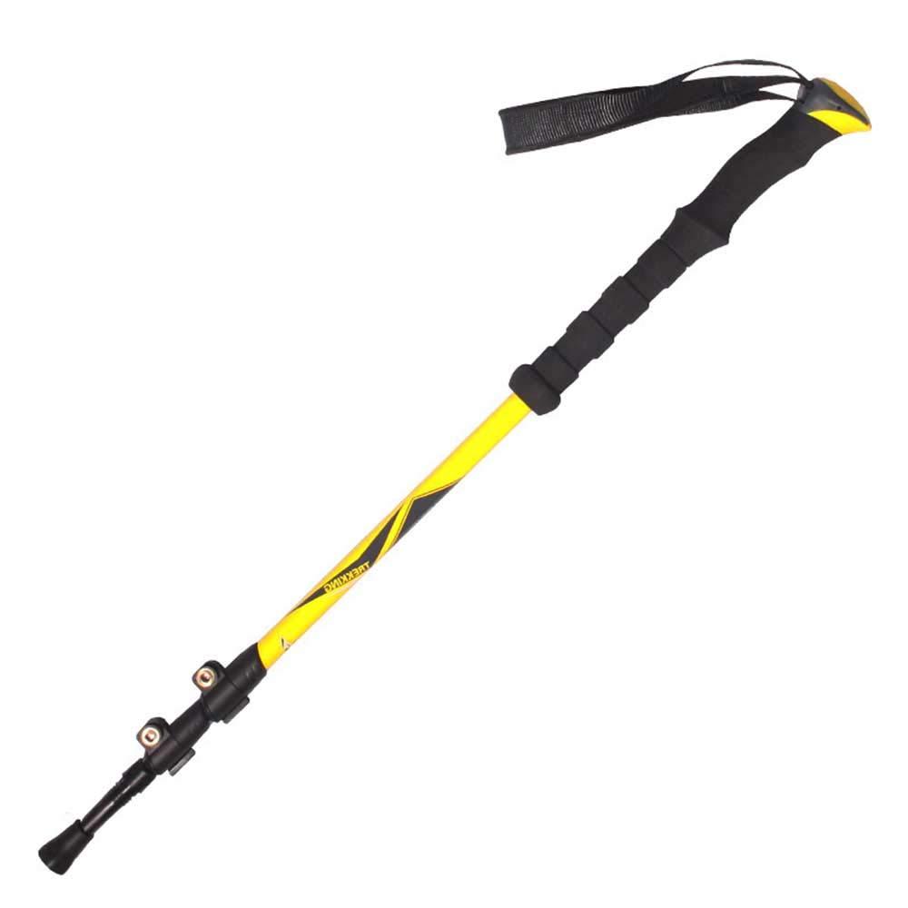 日本最級 トレッキングポール超軽量カーボンファイバー素材 B07QB1926J、多次元ウィービングテクノロジー、ナイロン製耐摩耗ハンドルヘッド、クライミングバッグ付き yellow B07QB1926J yellow yellow yellow, 多賀町:ab75a270 --- a0267596.xsph.ru