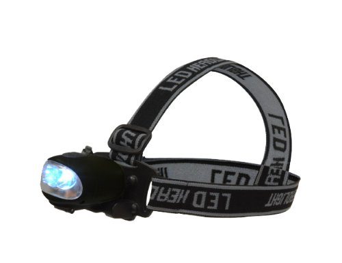 Highlander Scorpio Lampe frontale /à dynamo Noir