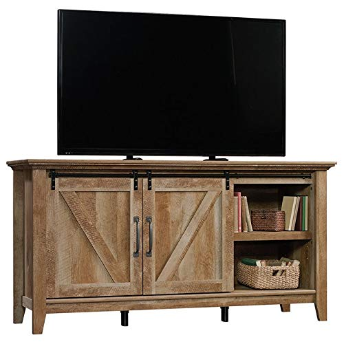 Sauder Dakota Pass Credenza, For TV's up to 70'', Craftsman Oak finish by Sauder