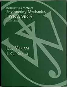 meriam and kraige dynamics 4th edition pdf download