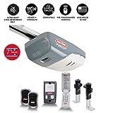 Genie 3042-TKH SilentMax 1000 3/4 HPC Added Wireless Keypad Belt Drive Garage Door Opener, Steel-Reinforced