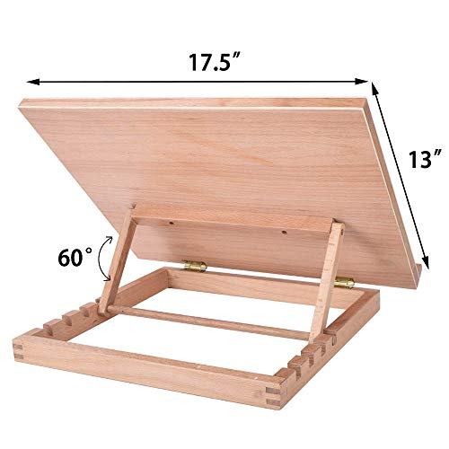 Vencer Large Adjustable Wood Artist Drawing & Sketching Board VDB-001 ...