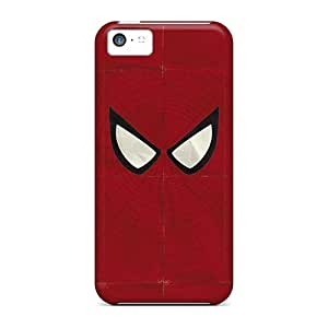 Tpu Case For Iphone 5c With Spiderman Art