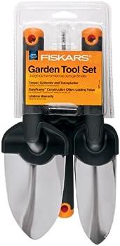 Fiskars 370770-1001 3-Piece DuraFrame Garden Tools Set