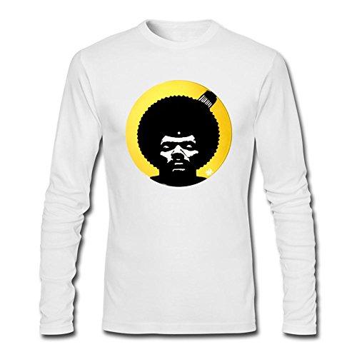 Libling Men's Pete Rock Symbol Long Sleeve T-Shirt XXX-Large White