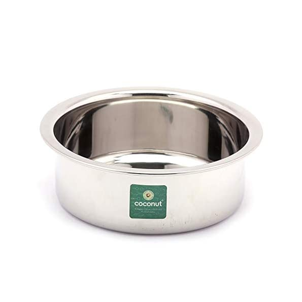 Coconut-Stainless-Steel-Heavy-Guage-Nano-Tope-Cook-N-Serveware-1-Unit-Capacity-800-ML