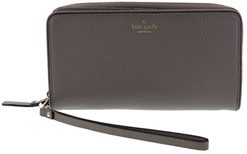Kate Spade New York Mulberry Street Brigitta Wristlet Wallet Handbag (Hare Grey) by Kate Spade New York