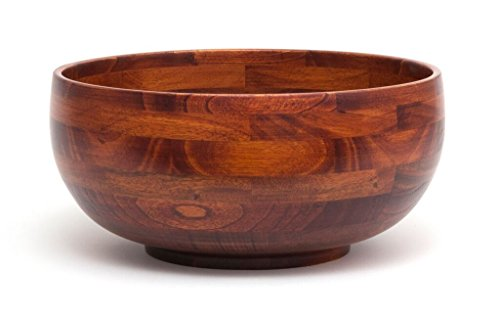 Lipper International 224 Rice Bowl, 12-Inch, Cherry Finish