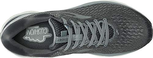 Brooks Men's Ghost 11 Ebony/Grey/Silver 7 EE US by Brooks (Image #1)