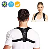 J-Sheng Premium Posture Corrector for Women&Men, Effective Comfortable Adjustable Back Support Brace for Slouching & Hunching,Upper Back & Neck Pain Relief