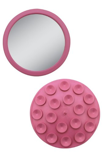 EZ-Grip - Petit miroir grossissant 12x - Couleur: Rose Zadro Products Inc. EZG12P