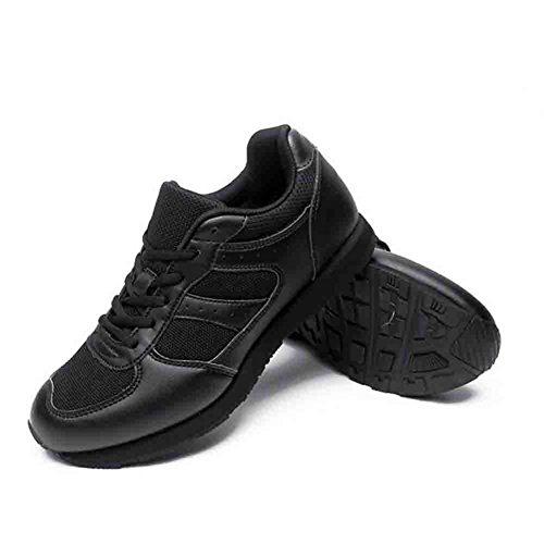 Chaussures De Marche En Caoutchouc Pour Hommes En Automne Et En Hiver Respirant Anti-dérapant Anti-dérapant Chaussures De Sport Pour La Randonnée Camping, Noir, 42
