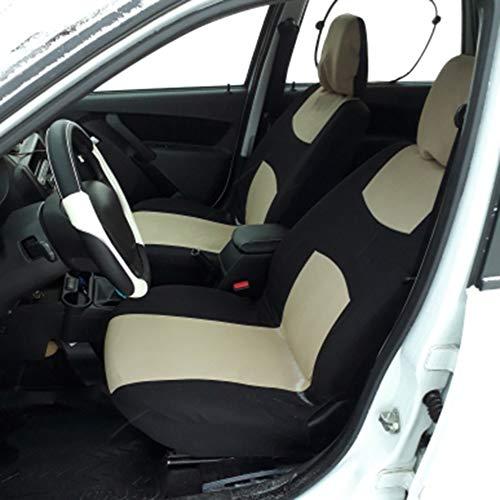 Justdodo 2016 Transpirable Delantero Trasero Universal Asiento de Coche Cubre Lindo Auto Asiento de Coche Cubre Veh/ículos Accesorios
